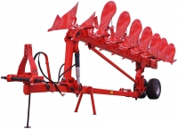 Semi Mounted Reversible Plough