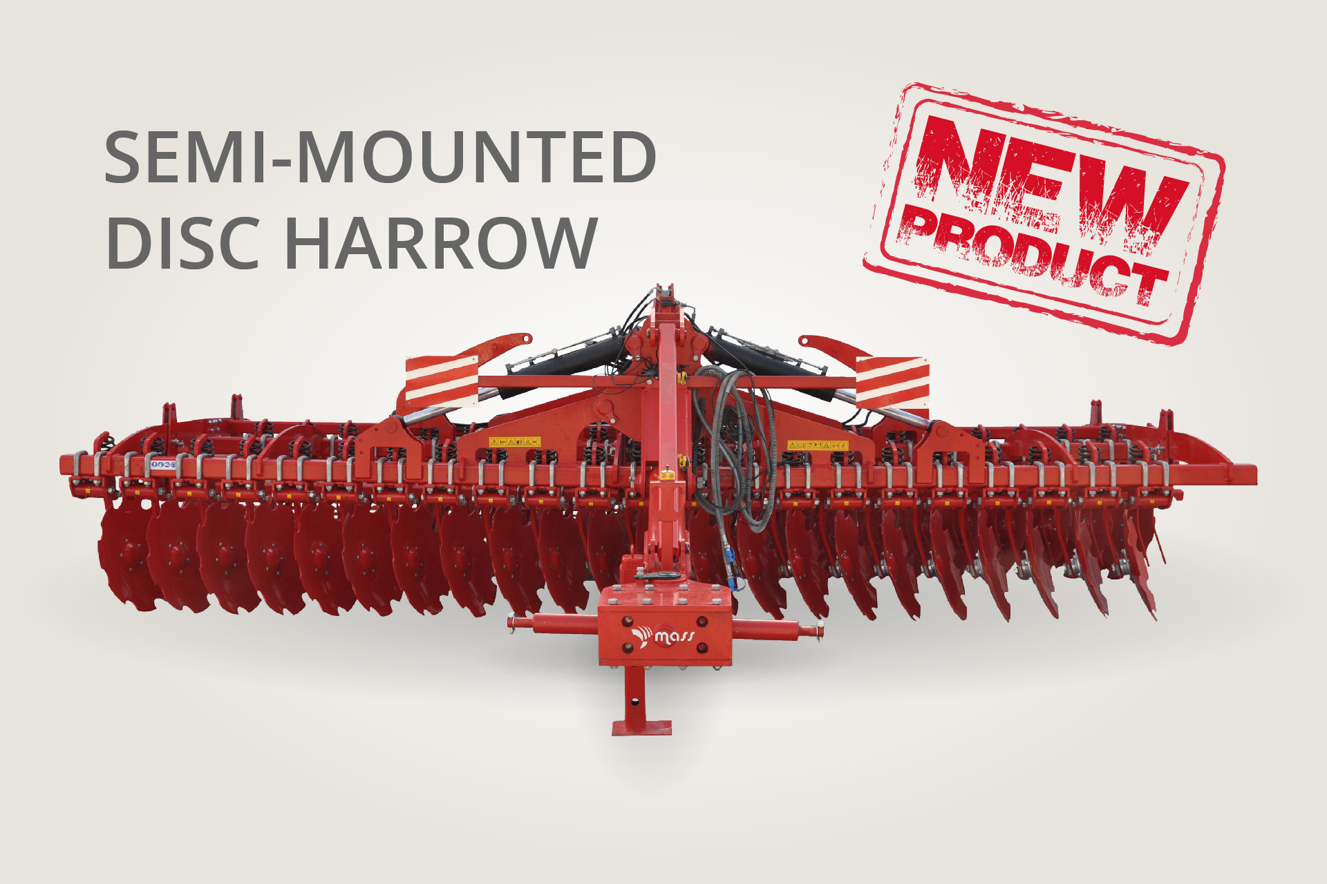 Semi-Mounted Disc Harrow